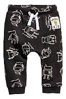 Стильные штаны-джоггеры на мальчика 1.5лет