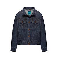 Куртка из джинсовой ткани для мальчика, цвет темный индиго