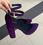 Туфли летние с ремешком (7 цветов), фото 7
