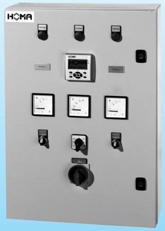 Шафи управління для насосів HOMA, комутаційні апарати