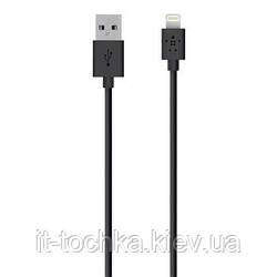 Кабель belkin usb 2.0 lightning charge/sync cable black 1.2м (f8j023bt04-blk)