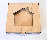Коробка Домик под шнуровку