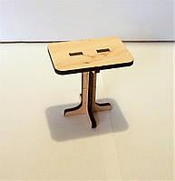 Кукольная мебель, Столик маленький, Набор Венеция