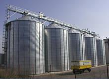 Металлические сылосы для хранения зерна (Германия)