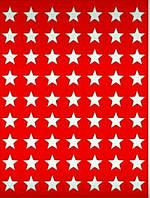 Трафарет Звездочки3, 20х15 см, многоразовый