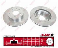 Передние  вентилируем тормозные  диски  VITO 638 ---03