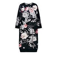 Платье из неопрена, цвет черный, фото 1