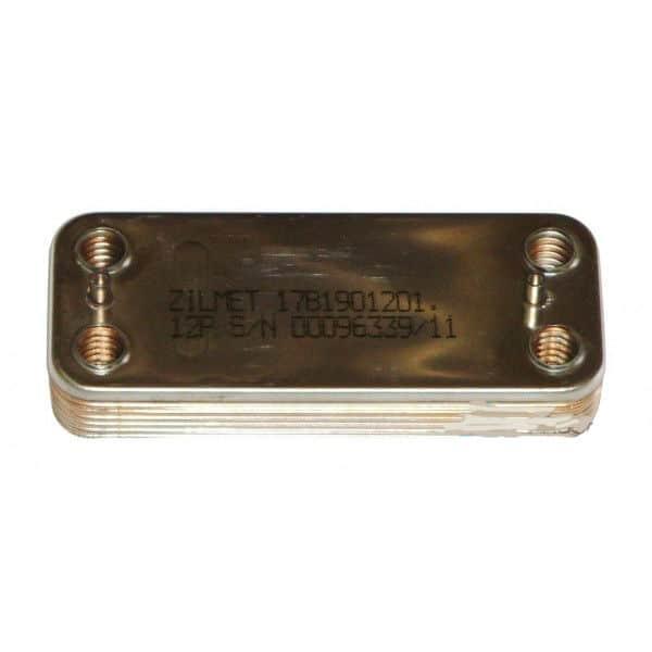 17B1901201 (R8036) Теплообменник вторичный пластинчатый для Beretta City, Beretta Super Exclusive Nobel Plus.