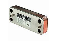 Теплообменник вторичный Пластинчатый 16 пластин для котлов Beretta 17B1901606