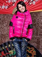 """Стильная женская короткая куртка на синтепоне """"VIVA"""" в расцветках"""