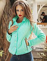 Женская стильная женская куртка на синтепоне 02104