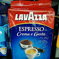 Кофе в зернах Lavazza Espresso Crema e Gusto 1кг /Зерновой кофе Лавацца