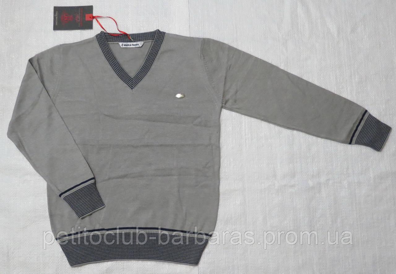 Пуловер для мальчика серый (InCity, Турция)