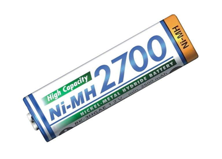 Аккумулятор Ni-Mh Panasonic 14500, 1,2V 2700mAh