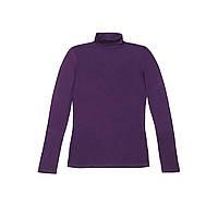 Водолазка женская, цвет фиолетовый