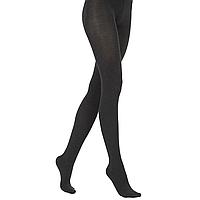 Эластичные колготки Велюр, цвет черный меланж, 120 den