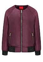 Куртка, цвет бордовый
