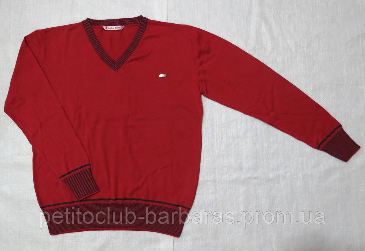 Пуловер для мальчика красный (InCity, Турция)