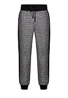 Трикотажные брюки для мужчины, цвет темно-серый меланж