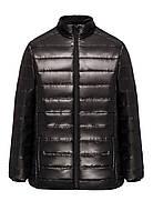 Утепленная куртка для мужчины, цвет черный