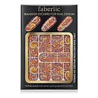 Переводные наклейки для дизайна ногтей «Сказки Шехерезады»