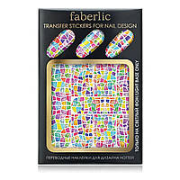 Переводные наклейки для дизайна ногтей «Карибская мозаика»