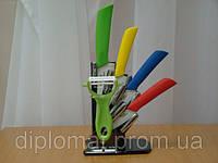 Набор керамических ножей 4 ножа + экономка