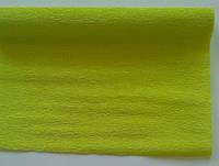 Креп бумага салатовая