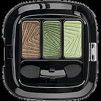 Трехцветные тени для век «Виртуозное трио», тон «Зеленый луг» SkyLine 5484