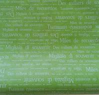 Бумага упаковочная зеленая
