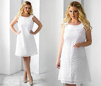 """Элегантное женское платье в больших размерах 1081 """"Прошва"""""""