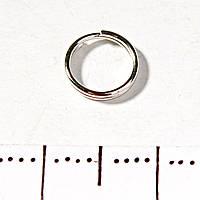 Фурнитура Кольцо заводное пружина 25гр/уп d-7мм