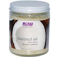 Кокосовое масло рафинированное, Now Foods, 100% натуральное, 207 мл