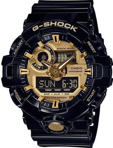 Наручные мужские часы Casio GA-710GB-1AER оригинал