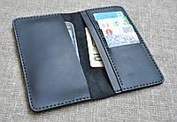 Универсальный чехол для гаджета, денег и карт из натуральной кожи ручной работы