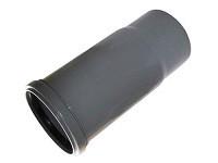 Компенсатор Ø 110 ПП Инсталпласт, с раструбом и уплотнительным кольцом для внутренней канализации, серый
