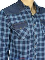 Рубашки casual с длинным рукавом