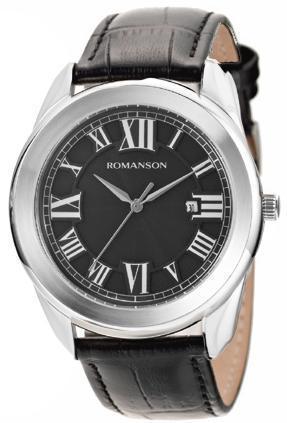 Наручные мужские часы Romanson TL2615MWH BK оригинал