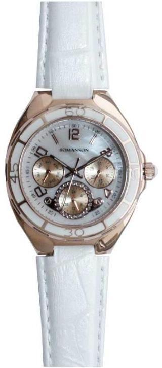 Наручные женские часы Romanson RL0357UURG WH оригинал