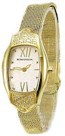 Наручные женские часы Romanson RM1266QLG WH оригинал
