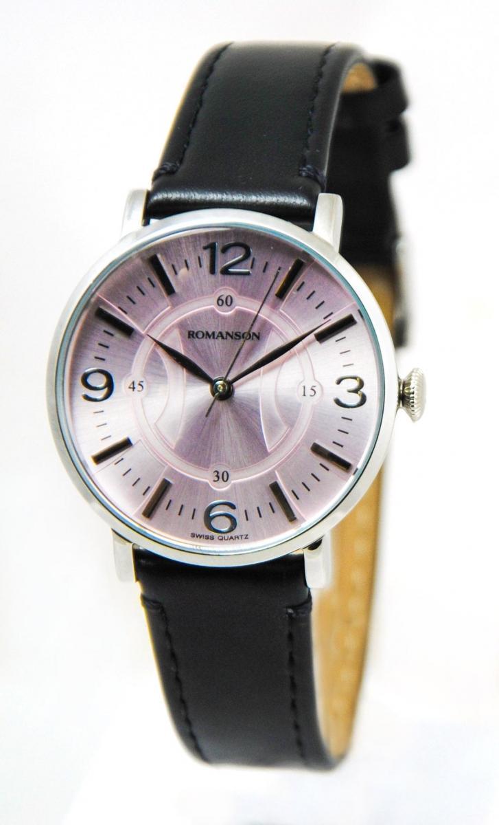 Наручные женские часы Romanson RL4217LWH Pink оригинал