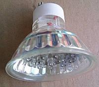Лед лампа цветная GU10 rgb mix 0.9 вт spark
