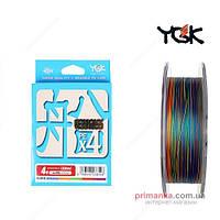 YGK Шнур плетеный YGK Veragass PE x4 150m  (#2.0/30 lb) FS00000688