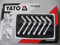 """Набор ключей для свечей накала 3/8"""" 6 предметов YATO YT-0534"""