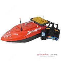 Дельфин Кораблик для прикормки Дельфин-2L+FF918+GPS