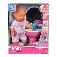 Кукольный набор Simba Пупс NBB Ванная комната, 30 см 5036467 ТМ: Simba