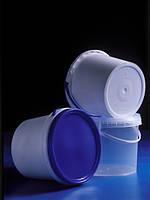 Ведро пластиковое емкостью 5,5 л из полипропилена