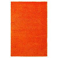 HAMPEN Ковер с длинным ворсом, оранжевый
