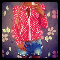 Женская атласная курточка ар28