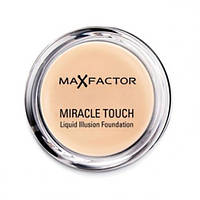 Тональная крем-пудра Max Factor Miracle Touch Liquid Illusion Foundation